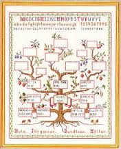 family tree hand embroidery design - Google Search