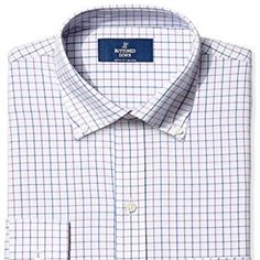 """Buttoned Down Men's Classic Fit Button-Collar Non-Iron Dress Shirt, Grey/Purple/Blue Check, 18"""" Neck 34"""" Sleeve Quompra https://quompra.com/product/buttoned-down-men-s-classic-fit-button-collar-non-iron-dress-shirt-grey-purple-blue-check-18-neck-34-sleeve/  Price: & FREE Shipping  #shopping"""