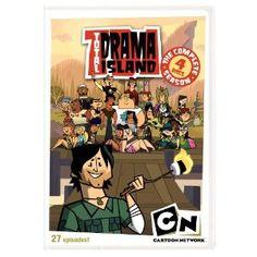 Cartoon Network: Total Drama Island Complete Season Dvd From Warner Bros. Old Cartoon Network Shows, Cn Cartoon Network, Cartoon Tv Shows, Drama Total, Total Drama Island, Movies Showing, Movies And Tv Shows, Desenhos Cartoon Network, Best Cartoons Ever