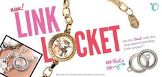 new! Link Locket | Origami Owl
