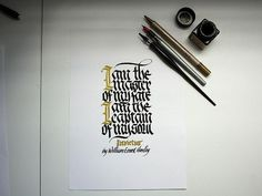 The word INVICTUS means 'unconquered' in Latin and is the title ofWilliam Ernest Henley's poem Invictusinspired by his own tenacity in overcoming great pers