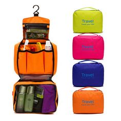 KN Travel Pouch Waterproof Portable Toiletry Bag Women Cosmetic Organizer Pouch Hanging Cute Wash Bags Makeup Bag Professional * Pub Date: Feb 14 2017 Makeup Storage Pouch, Makeup Organization, Bag Storage, Toiletry Storage, Cosmetic Storage, Makeup Pouch, Travel Cosmetic Bags, Travel Toiletries, Travel Bags