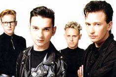Andy Fletcher, Dave Gahan, Martin Gore and Alan Wilder - DEPECHE MODE