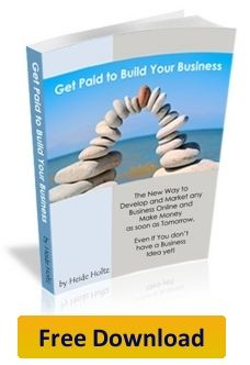 Get paid to build your business. In this eBook, Heide outlines each step you need to take to get your own online business up Viral Marketing, Internet Marketing, Affiliate Marketing, Marketing Books, Home Based Business, Online Business, Earn Money From Home, How To Make Money, Great Books To Read