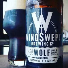 Wow! Dark and full of flavour. Excellent Scottish Ale by @WindsweptBeers.