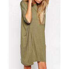 """NWOT LF TShirt-Dress In Olive Size Small $108 Up for sale is this brand new without tags LF t shirt-dress in a size S and the color olive. Worn once for the provided picture. Purchased for $108. This can be worn as a dress as I did, or as a """"boyfriend style"""" t shirt. LF Dresses"""