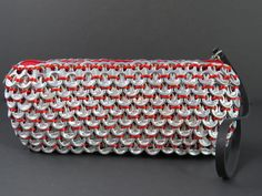 Loredo Fire Pop Tab Clutch: Recycled Fashion Collection
