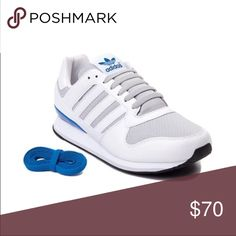 🎉HP🎉Adidas ZXZ Sneakers Worn once.  Mint condition. Cobalt blue, grey and white. Grey shoestrings not included.  Original box included. NO TRADES Adidas Shoes Sneakers