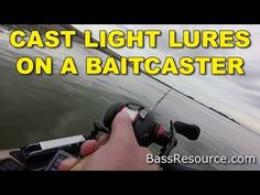 Casting light lures on a baitcaster can be hard, but not after watching this video. You'll learn the right way to cast light lures on baitcasting reels. Related videos: How To Cast A Baitcast… Kayak Bass Fishing, Fishing Knots, Gone Fishing, Best Fishing, Trout Fishing, Fishing Lures, Surf Fishing, Fishing Tackle, Fishing Techniques