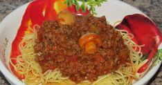 Sauce Spaghetti, Cooking Spaghetti, Sauce Tomate, Pasta, Mets, Favorite Recipes, Sauces, Ethnic Recipes, Amazing Recipes