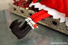 Make your own DIY Elf on the Shelf Shoes for Pennies!