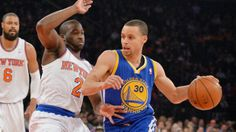 #Knicks are blown out for the second consecutive night, this time at the hands of the #Warriors. #NBA