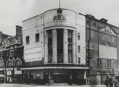 The old REX club still stands today 2017 broadway London Pubs, Old London, East London, Abc Cinema, Newham, Old Photographs, Photos, Brick Lane, West Ham