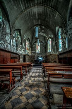 """Alte Kapelle"", Urban Exploration - Fotografie Holger Bär, lost place, lost places, urbex, Urban Exploration"
