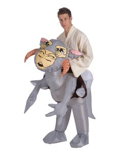 Star Wars Tauntaun Inflatable Adult's Costume..... so would love to but ill stick with the Tauntaun sleeping bag