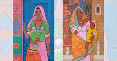 "by Gopal Nandurkar for his exhibition titled ""Transcribing Beauty"". The through his paintings presents a positive approach full of pure joy and tasteful aesthetics. It is this experience that's depicted in the paintings. Pure Joy, Indian Art, Art Gallery, Aesthetics, Presents, Paintings, Fine Art, Pure Products, Creative"