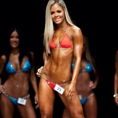 Bikini competition..in training now :-)