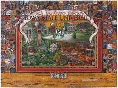 What We Love About Iowa State University 150th Poster  $40 +$15 shipping
