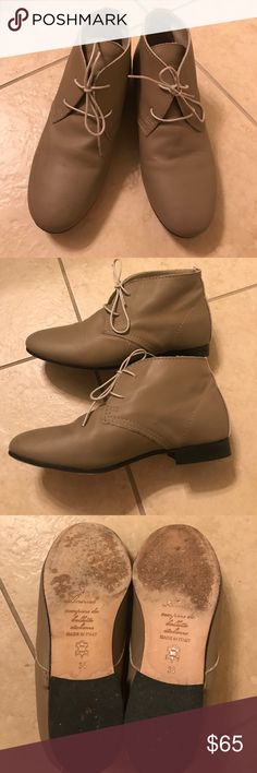 Anniel Boots Made in Italy! Soft leather boots, very gently used. Anniel Shoes Ankle Boots & Booties