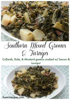 Mixed Greens & Turnips Southern Mixed Greens & TurnipsMixed Mixed is the past tense of mix. Mixed may refer to: Southern Greens, Southern Dishes, Southern Recipes, Southern Food, Southern Style, Southern Mustard Greens Recipe, Southern Comfort, Turnip Recipes, Veggie Recipes