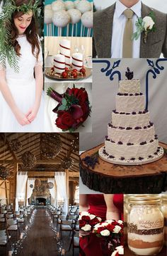 Married in a Winter Wonderland! Inspiration for a winter wedding