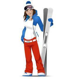 Ski hire in France