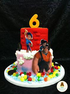 wreck it ralph birthday cake | Wreck It Ralph Birthday Cake