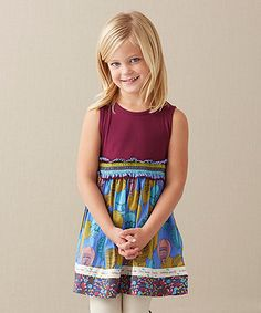 This Plum Elevated Tank Dress - Infant, Toddler & Girls by Matilda Jane Clothing is perfect! #zulilyfinds