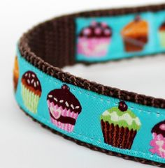 Fancy Cupcakes Dog Collar / Girl Dog Collar by daydogdesigns, $16.00