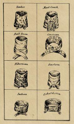 how to tie your neckcloth (regency)