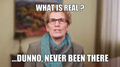 Wynne, What is real ? #onpoli