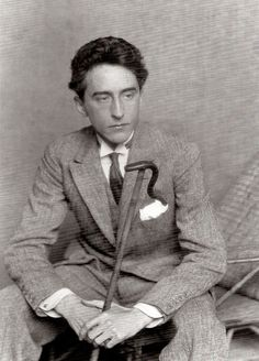 Portrait of Jean Cocteau by Man Ray, 1924 Man Ray, Jean Cocteau, Writers And Poets, Book Writer, Playwright, High Society, In This World, Pose, Books