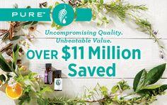 PURE™ Essential Oils Have Saved Melaleuca Customers $11.8 Million
