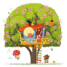 Hand Illustration, Illustration Mignonne, Children's Book Illustration, Comic Tutorial, Children Sketch, Kids Story Books, Children's Picture Books, Illustrator Tutorials, Cartoon Pics