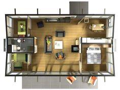HABODE Modern Prefab House Design