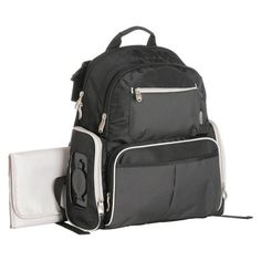 Perfect for Dad? - $30.50 Graco Gotham Backpack Diaper Bag - Black/Gray