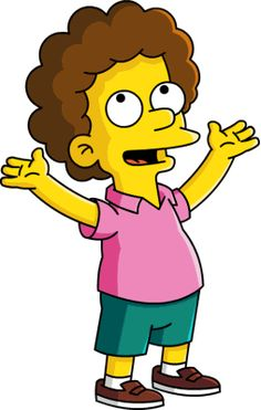 Todd Flanders- loves to eat plain sugar, does anything you want him to do, and he is a churchy joe