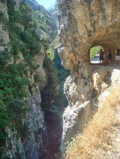 La Ruta del Cares, Picos de Europa, between Poncebos (Asturias) and Caín (León).
