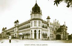 Straits Settlements, Kuala Lumpur, City Lights, Notre Dame, Louvre, Building, Chinese, Travel, Garden