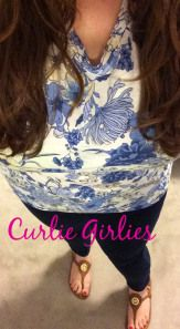 OOTD floral tee shirt