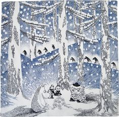 moomin winter snow - Google-haku