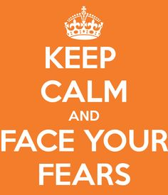 I've tried to face one of my biggest fears and I can't just do it!