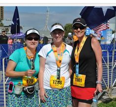 My second half marathon 4/7/13!