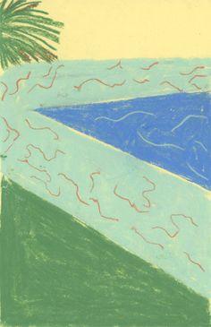 1/2013 - Anna Topuriya David Hockney's pool?