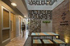 Image 1 of 23 from gallery of Bioclimatic and Biophilic Boarding House / Andyrahman Architect. Photograph by Mansyur Hasan