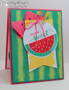 Stampin' Up! June Paper Pumpkin Kit – With Card Alternative – Stamp With Amy K