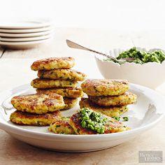Cauliflower Rice Cakes