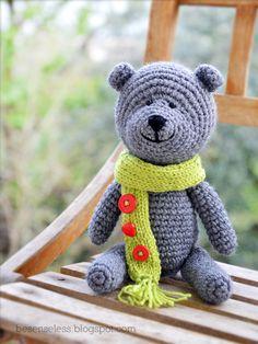 Where is the Wonderland? - airali handmade -: Teddy bear