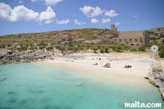 Hondoq ir-Rummien - beach in Qala, Gozo │Come to Malta and discover our culture. There is no better place to learn English: http://lifeinmalta.com/ #malta #beach #lifeinmalta