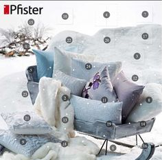 Pfister Adventskalender 2015. Jetzt mitmachen! Throw Pillows, Cushions, Decorative Pillows, Decor Pillows, Scatter Cushions